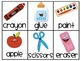 Back to School Pocket Chart Activities