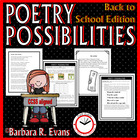 Back to School Poetry Possibilities