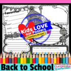 Back to School Poster Activity