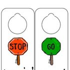 Back to School - Printable Door Hangers/Hall Passes
