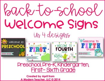 Back to School Printable Sign FREE
