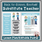 Back to School Procedures When Have a Substitute Teacher