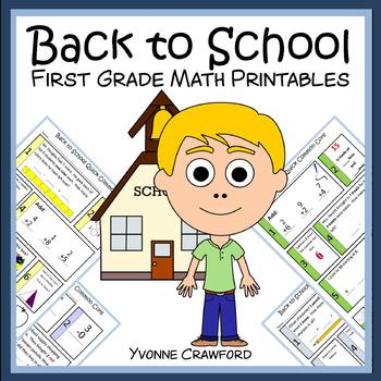 Back to School Quick Common Core (1st grade)