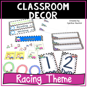 Back to School - Racing Theme