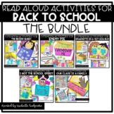 Back to School Read Alouds {Reading & Writing activities a