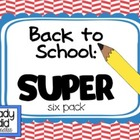 Back to School SUPER Six Pack: Calendars,Schedule Cards, a