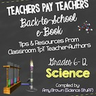 Back to School Science eBook for Grades 6-12 (2014-15 scho