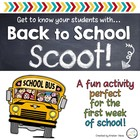 """Back to School """"Scoot!"""""""