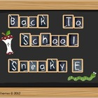 "Back to School Sneaky ""E"""