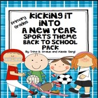 Back to School (Sports Theme) Kick Off Into a New Learning