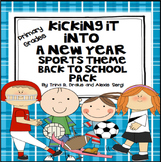 Back to School (Sports Theme) Kicking Into a New Learning