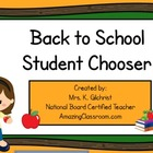 Back to School Student Name Picker - Smart Notebook File