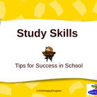 Back to School Study Skills Tips for Success PowerPoint