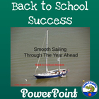 Back to School Success PowerPoint - Smooth Sailing Beginni