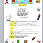 Back to School Survival Kit Printable