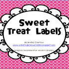Back to School Sweet Treats Labels