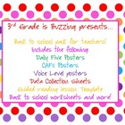 Back to School Teacher Pack (Colorful Dots Theme)