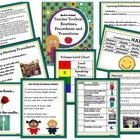 Back to School Teacher Toolbox: Routines, Procedures, & Tr