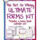 Back to School: The Not So Wimpy Ultimate Forms Kit