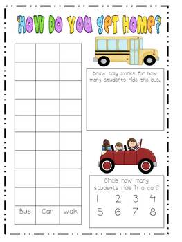 Back to School Unit Centers and Printables