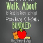 "Back to School Walk About {A BUNDLED ""Read the Room"" Activity}"
