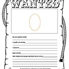 Back to School Wanted Poster