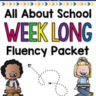Back to School Week long Fluency Packet