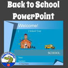 Back to School - Welcome Back To School PowerPoint Template