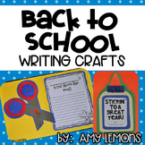 Back to School Writing Craftivities