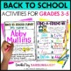 Back to School for Big Kids! {Beginning of the Year Activities}