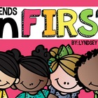 Back to School for First Graders {Friends in First!}