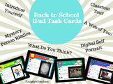 Back to School iPad Task Cards