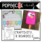 Back to School or End of the Year Popsicle Craftivity { wi
