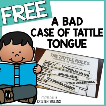 "Back to School with ""A Bad Case of Tattle Tongue"""