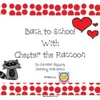 Back to School with Chester Raccoon
