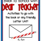 "Back to School with ""Dear Teacher"" {Friendly Letters}"