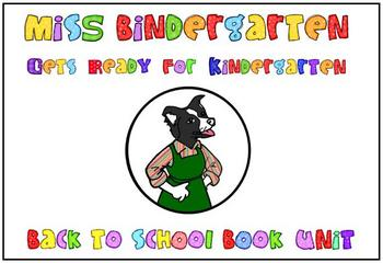 Back to School with Miss Bindergarten
