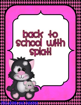 Back to School with Splat