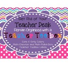 Back to school Girly Chevron/Polka-Dot Teacher Toolbox Labels