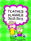 Back to school Teacher Planner {Farm theme}