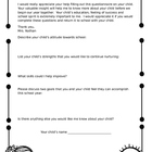 Back to school letter for parents - editable