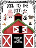 Back to the Barn! ~ An Alphabet Recognition Activity