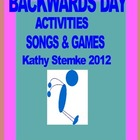 Backwards Day Activities Songs & games
