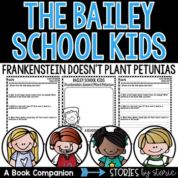 Bailey School Kids #6: Frankenstein Doesn't Plant Petunias