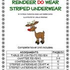 "Bailey School Kids ""Reindeer Do Wear Striped Underwear"" No"