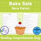 Bake Sale by Sara Varon A Bluebonnet Nominee Reading Compr