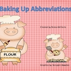 Bakery Abbreviations