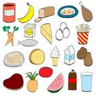 Balanced Eating Clip Art {Personal/Commercial Use}