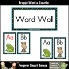 Balanced Literacy --  Beanie Baby  Word Wall Headers
