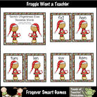 Balanced Literacy -- Santa&#039;s Gingerbread Elves Nonsense Words